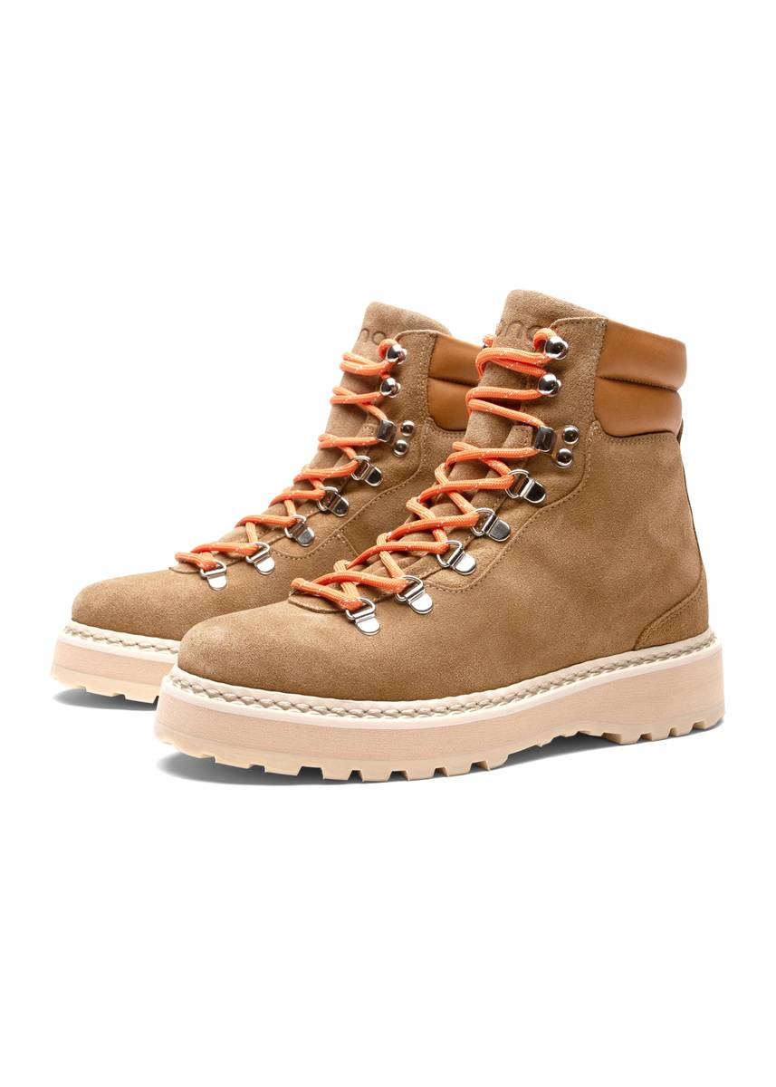 MONO - W Hiking Suede Boots Nude