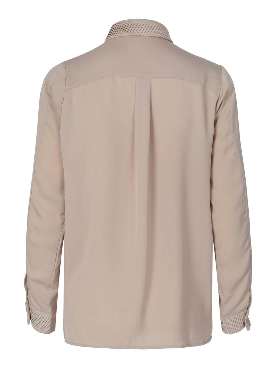RICCOVERO - Noir Shirt Beige